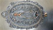 Painting VIRGIN MARY PLASTER GROTTO